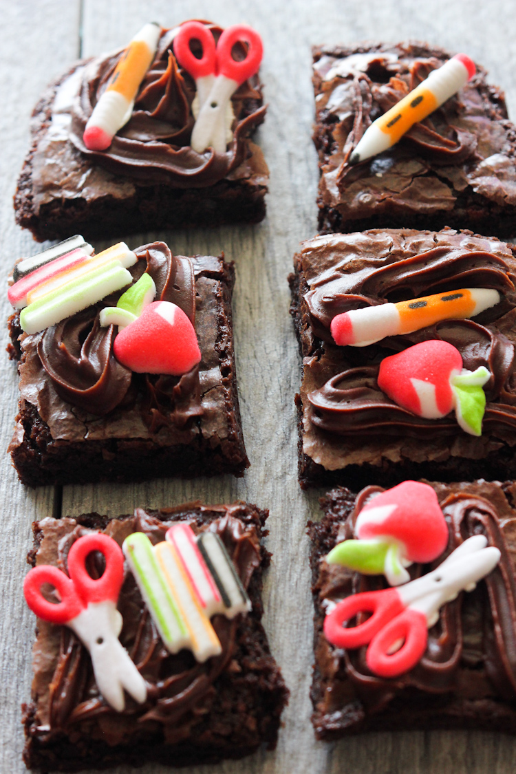 Back to School Brownies
