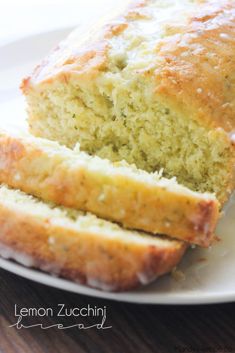 Lemon Zucchini Bread