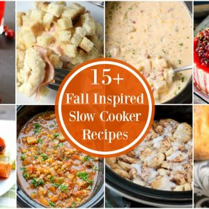15+ Slow Cooker Recipes for Fall