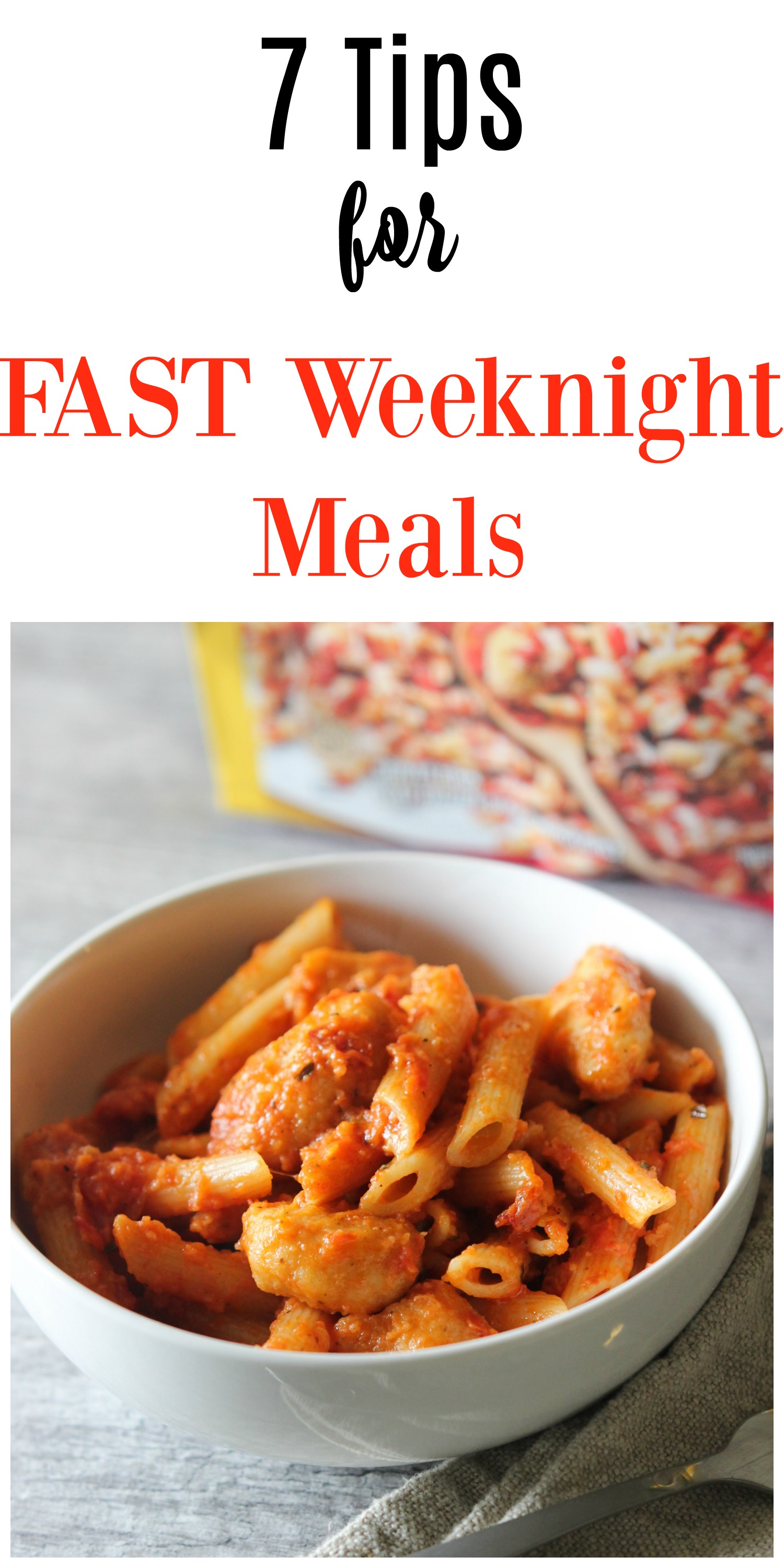 7 tips for fast weeknight meals
